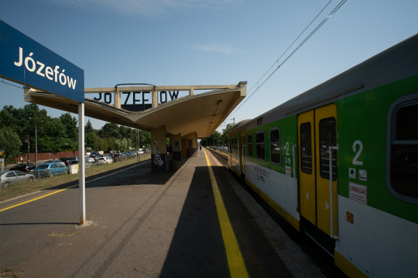 Train Station in Józefów